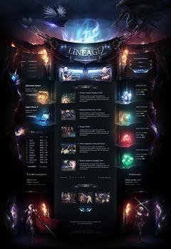 Lineage 2 Classic Interlude Server Game Website Template